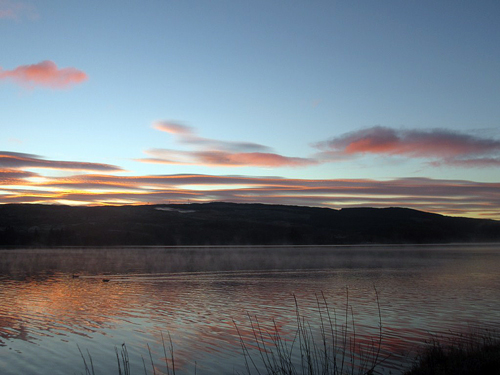 Sunrise in Loch Awe
