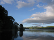 Blue Skies over Loch Awe